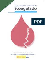 consejos anticoagulado