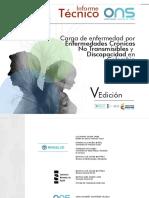 Quinto Informe - Cronicas y Discapacidad
