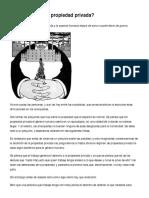 ¿Por qué abolir la propiedad privada_ - Portal Libertario OACA