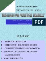 2.-Marco Logico Para Proyectos de Desarrollo