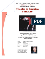 Theatre in America Flyer PDF