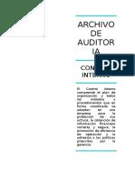 Archivo de Auditoria