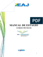 Manual Do Estágio Supervisionado Curso Técnico Pronatec (1)