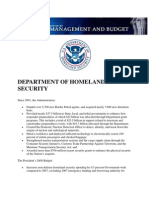 DEPARTMENT OF HOMELAND SECURITY - Focusing on the nation's priorities