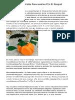 Manualidades Originales Relacionados Con El Basquet Faciles