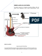 As Nomenclaturas Da Guitarra Elétrica