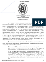 Venezuela - TSJ - Extension of Emergency Decree Legal Over-riding National Assembly - 17 March 2016