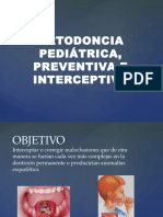 Ortodoncia Pediátrica, Preventiva e Interceptiva