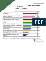 arizona career information system - career cluster inventory