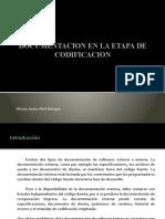 Documentacion en La Etapa de Codificacion
