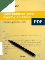 Escribir en Chino