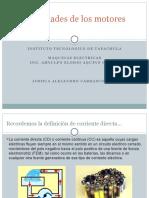 Generalidades de Los Motores de CD