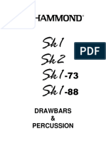Hammond Drawbars & Percussion