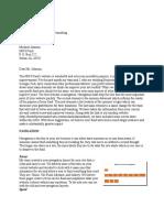 Kaufman Proposal Letter
