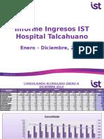 Informe Estadistico 2014