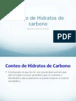 Conteo de Hidratos de Carbono Completa