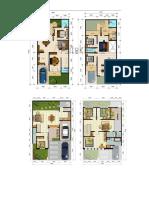 Alternatif Denah Rumah Tinggal 2 Lantai