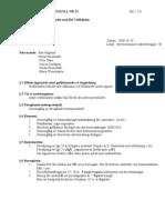 Styrelseprotokoll nr. 12