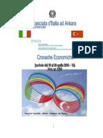 CRONACHE ECONOMICHE 2010 - 15