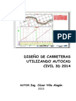 Manual de Autocad Civil 3d 2014 Para Carreteras