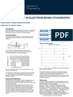 Dose Assignment in Electron Beam Lithography