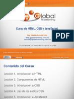 Curso de HTML  Global Mentoring