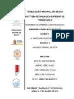 Reporte Instalación SGBD PostgreSql
