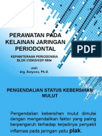 Perawatan Pada Kelainan Jaringan Periodontal