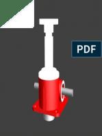 7b. Gato Mecanico de Husillo en 3D