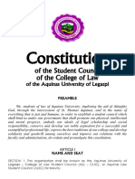 ALSC Constitution (for Final Comment)