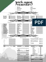 DAVampire4-Page Antediluvian Editable