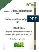Prodes_Taxa2014