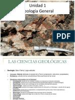 Geología - Presentación Primera Prueba EPR1