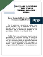Temario Curso Electronica Bafffsica y Componentes Electronicos