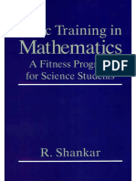Basic Training in Mathematics - Shankar