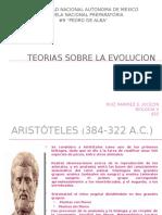 PresentacionBiologiaTeoriasSobreLaEvolucion.pptx