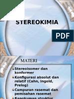MATA KULIAH STEREOKIMIA