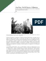 Nacimiento de Las FARC- Del Davis a Villarica