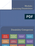presentation specific learning disabilities