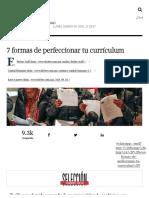7 Formas de Perfeccionar Tu Currículum - Forbes México