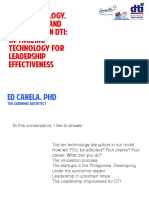 Technology, Innovations, and Leadership in DTI