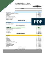 Presupuesto Edificio Tapachula