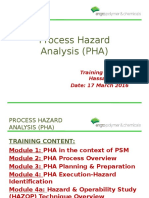 Process Hazard Analysis (PHA)