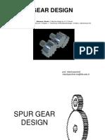 Design of Gears