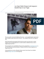 Exhibition Place Chair Mark Grimes Took Taxpayer-funded trip to Las Vegas (April 18, 2013)