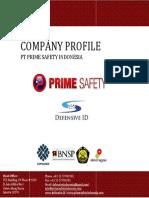 PrimeSafety Training k3 Company Profile