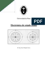 Capítulo I. Electrónica de Estado Sólido