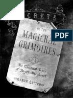 Secrets of the Magickal Grimoires by Aaron Leitch