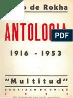 Pablo de Rokha, Antologia. 1916-1953