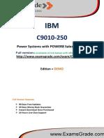 ExamsGrade C9010-250 Certification Study Kit